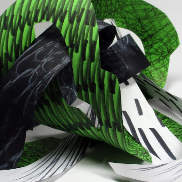 Get Creative: Gestural Paper Art