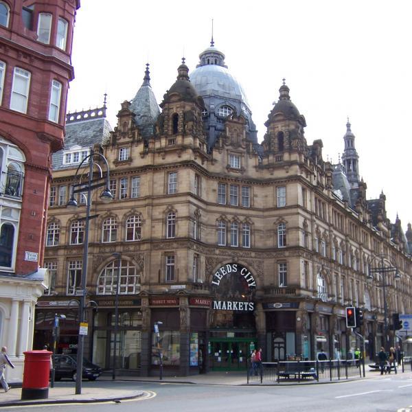 Kirkgate Market - venue of Leeds Record and Book Fair