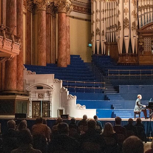 Pre-concert talk with Richard Stokes