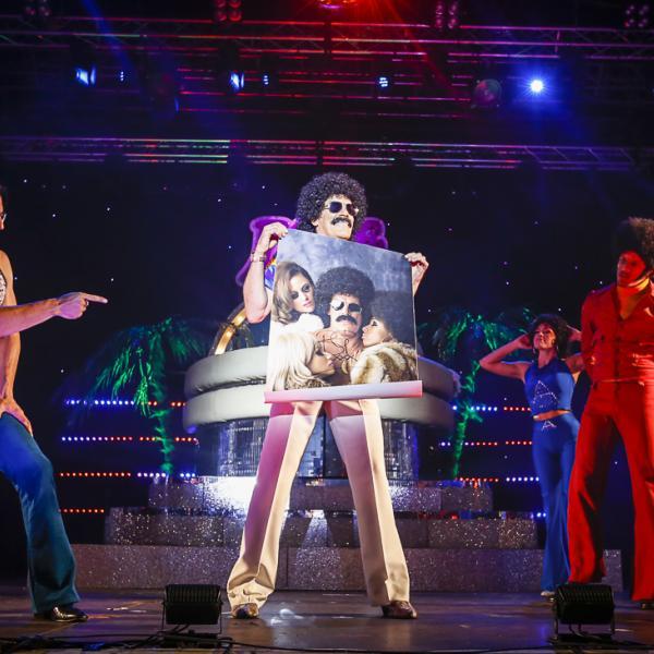 Brutus Gold's Love Train VIRTUAL Disco Ball