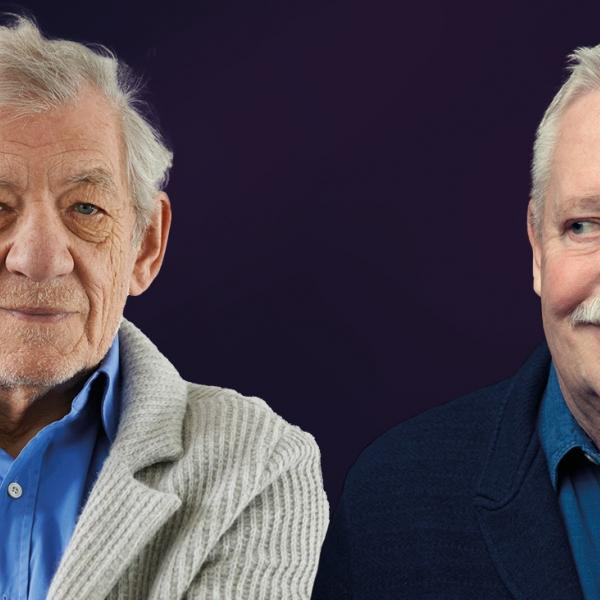 Fane Online Live Stream with Armistead Maupin in Conversation with Ian Mckellen