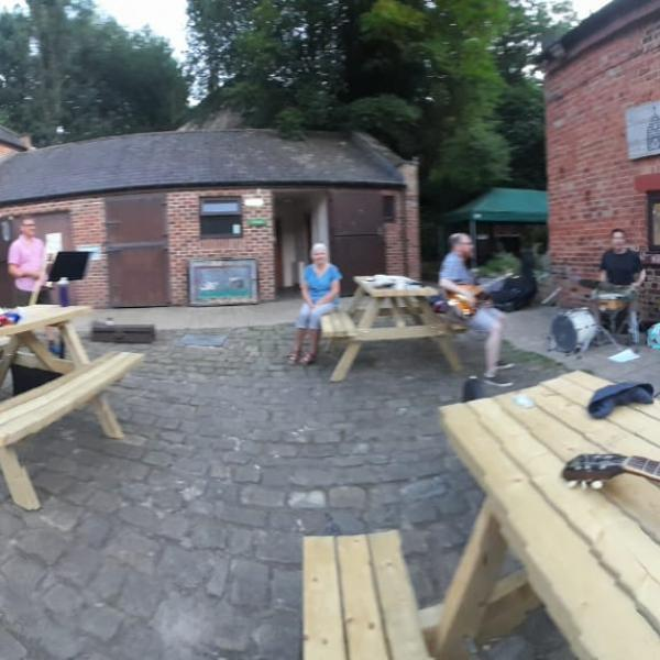Jam Session at Meanwood Valley Farm Barn