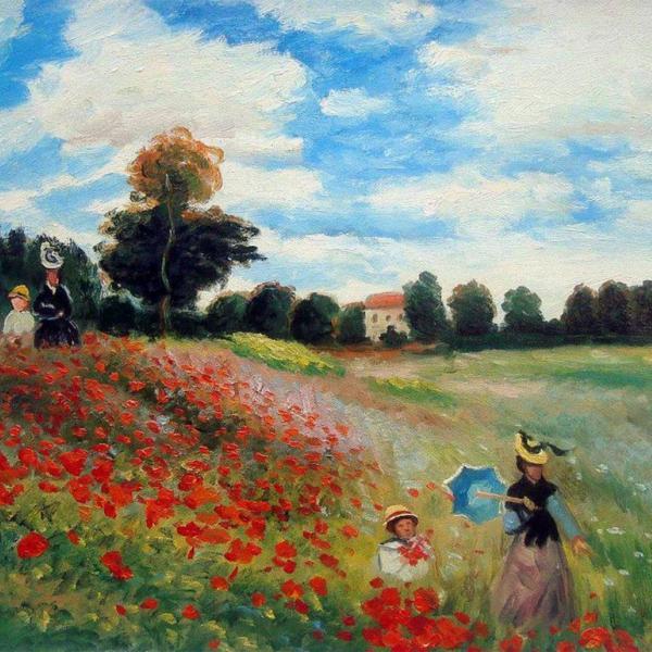 Paint Monet's Poppies!