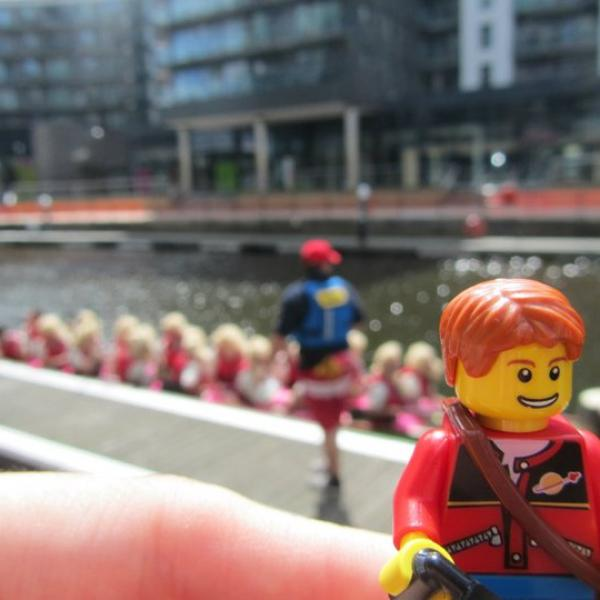 Lego Tourist is on the look-out for inspiration...