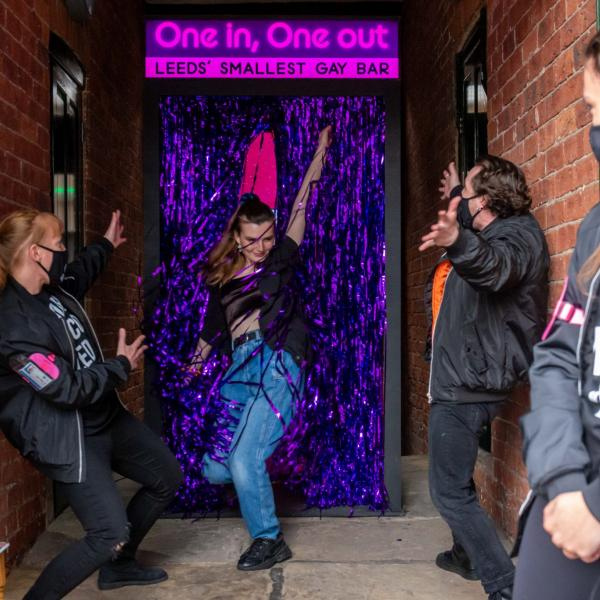 One in, One Out: Leeds' Smallest Gay Bar at Leeds Pride Village Fete