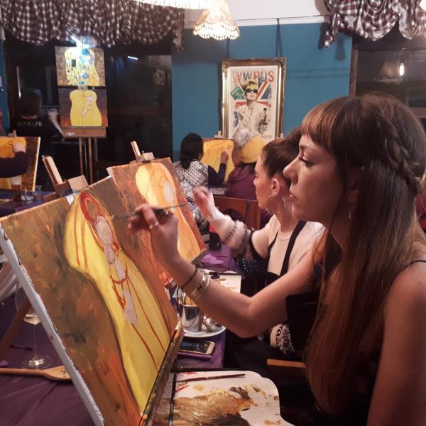 Paint Klimt - Valentine's Day Special