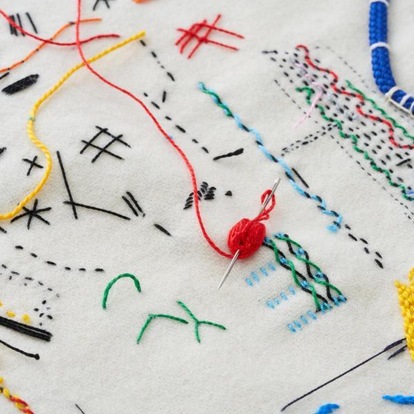 A Stitch Drawn Workshop with Richard McVetis