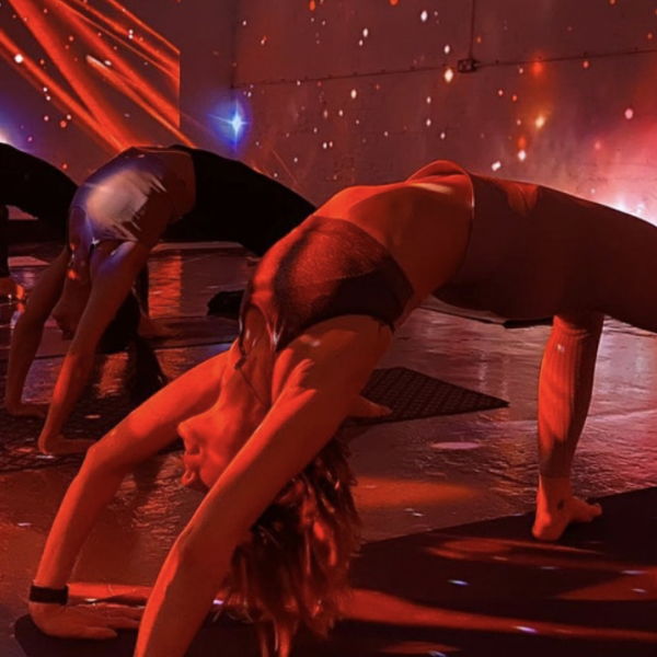 Digital Immersive Yoga