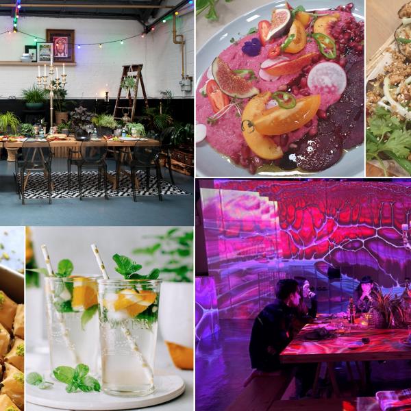 Digital Dining Supperclub: Mezes, Tagines, Baklavas and Mint Teas