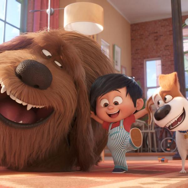 cartoon characters from Secret Life of Pets 2
