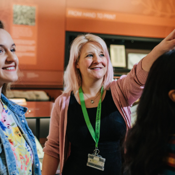 History, Imagination, Art and Culture: Student Welcome to Leeds University Library Galleries