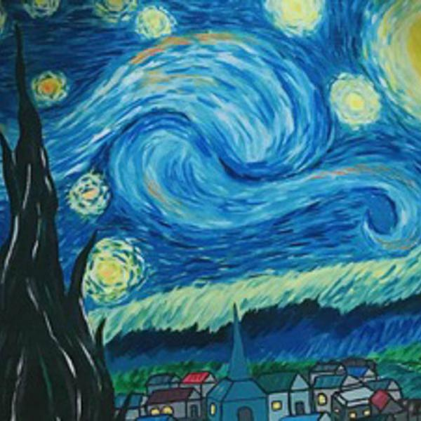Drink and Draw - Van Gogh