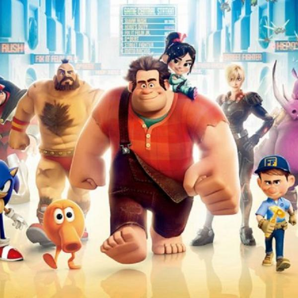 cartoon characters from wreck it ralph